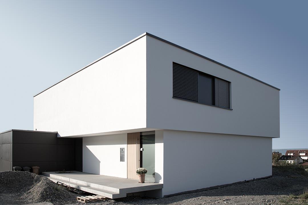 neubau einfamilien wohnhaus ritzal architekt. Black Bedroom Furniture Sets. Home Design Ideas